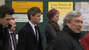 News video: Thousands Flock to Stephen Hawking's Funeral Including Theory of Everything Star Eddie Redmayne