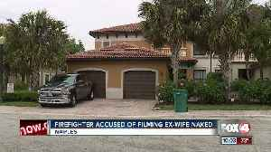 News video: Firefighter secretly films ex-wife in bathroom for 6 months