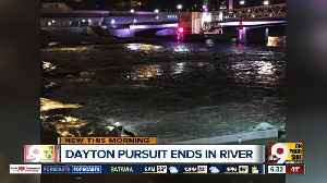 News video: Ohio police pursuit ends in Great Miami River