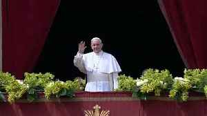 News video: Pope uses Easter message to pray for peace in Syria