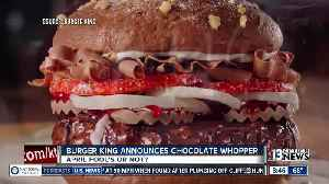 News video: Burger King announces Chocolate Whopper on April Fool's Day