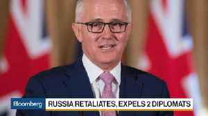 News video: Russia Had 'No Justification' to Expel Diplomats Says Turnbull
