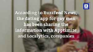 News video: Grindr Reportedly Sharing the HIV Status of Its Users With Other Companies