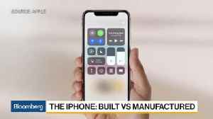 News video: Apple CEO Cook Says Not True iPhone Isn't Built in U.S.