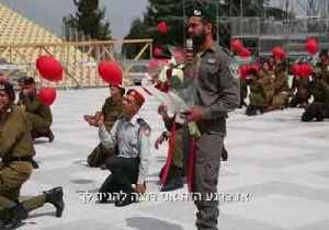 News video: Israeli Border Officer Proposes to Soldier Girlfriend During Independence Day Rehearsals