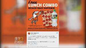 News video: Little Caesars Offers Free Lunch Thanks To UMBC