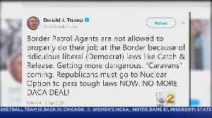 News video: Trump Threatens 'No More DACA Deal' In Twitter Rant
