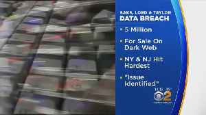 News video: Lord & Taylor, Saks Data Breach Rattle Nerves