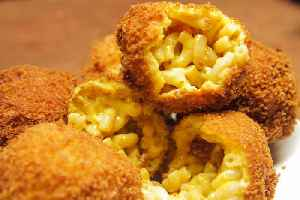 News video: Mac And Cheese Bacon Bombs