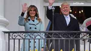 News video: Melania Trump's Easter Egg Roll Outfit Is a Lot Less Lighthearted than Last Year's