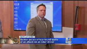 News video: Boston Police Officer Found Guilty Of Assault On Uber Driver