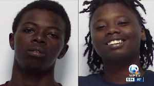 News video: Brother & sister arrested in Fort Pierce home invasion, homicide