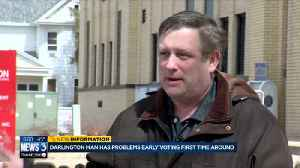 News video: Darlington man has problems absentee voting first time around