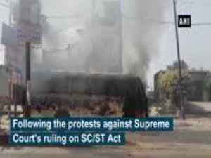 News video: After massive violence hits Meerut during Bharat Band, internet service suspended till 2 pm