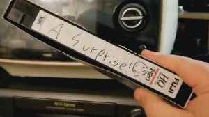 News video: The Mystery Surrounding 'Surprise' VHS Tape Bought at a Thrift Store