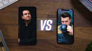 News video: Galaxy S9 vs iPhone X: Part 1! [w/MrMobile]