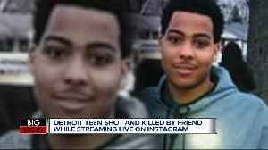 News video: Detroit man shot and killed while live on Instagram