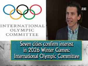 News video: Seven cities confirm interest in 2026 Winter Games: International Olympic Committee