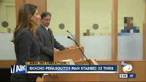 News video: Rancho Penasquitos man stabbed 33 times