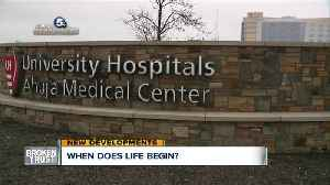 News video: Judge to decide if an embryo is a person in University Hospitals fertility clinic case