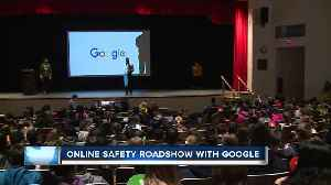 News video: Online Safety Roadshow teaches internet privacy