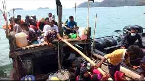 News video: Boat carrying Rohingya refugees reaches Malaysia