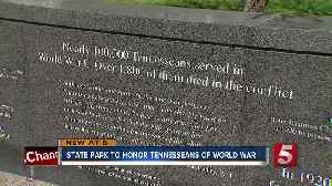 News video: State Parks Event Will Honor Tennesseans Of World War I