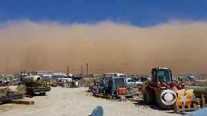 News video: Incredible Time Lapse Video Of Dust Storm Moving Through Texas Town