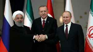 News video: Iran, Turkey and Russia meet for Syria summit