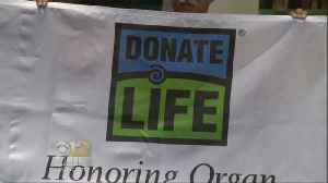 News video: Md. Hospital Calls Attention To Organ Donations During Donate Life Month