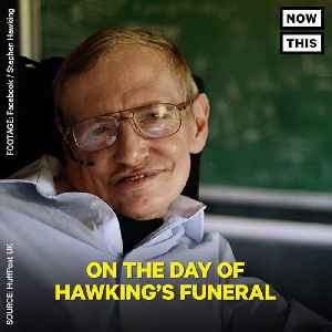 News video: Stephen Hawking Fed The Homeless For Easter As A Final Gift