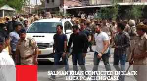 News video: Salman Khan Convicted In Black Buck Poaching Case