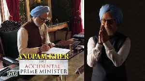News video: First Look: Anupam Kher as Manmohan Singh | The Accidental Prime Minister