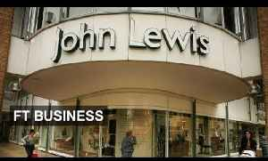 News video: John Lewis sees rise in confidence