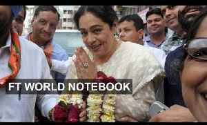 News video: Bollywood stars are playing a large role in Indian politics