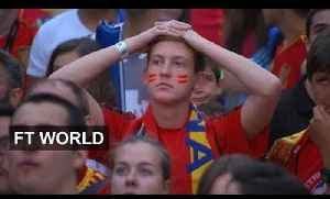 News video: Spain knocked out in the first round