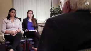 News video: 'You have the power to change America': Parkland students interview Bernie Sanders – video