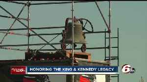 News video: Hoosiers gather at Kennedy-King Memorial to honor MLK on the 50th anniversary of his assassination