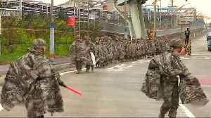 News video: South Korean marines take part in joint U.S. drills
