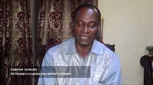 News video: Former coup leader elected president of Sierra Leone