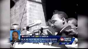 News video: MLK remembered at Mississippi civil rights, history museums
