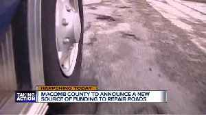 News video: Macomb Co. to announce new source of funding to fix roads
