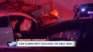 News video: One dead, one hurt after overnight police chase