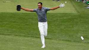 News video: Tony Finau Dislocates Ankle Celebrating His Hole-In-One