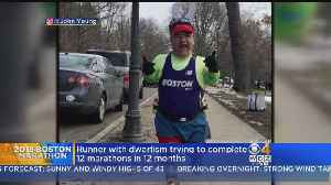 News video: Runner With Dwarfism Trying To Complete 12 Marathons In 12 Months