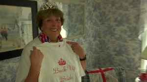 News video: Royals 'Superfan' prepares for the upcoming wedding