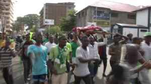 News video: Celebrations after Sierra Leone election