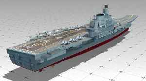 News video: China's first home-built aircraft carrier to carry out maiden sea trial