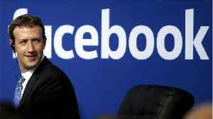 News video: Facebook Shares Rise As Zuckerberg Soothes Investors