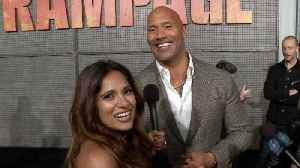 News video: Dwayne Johnson On His Bond With 'Rampage' Co-Star